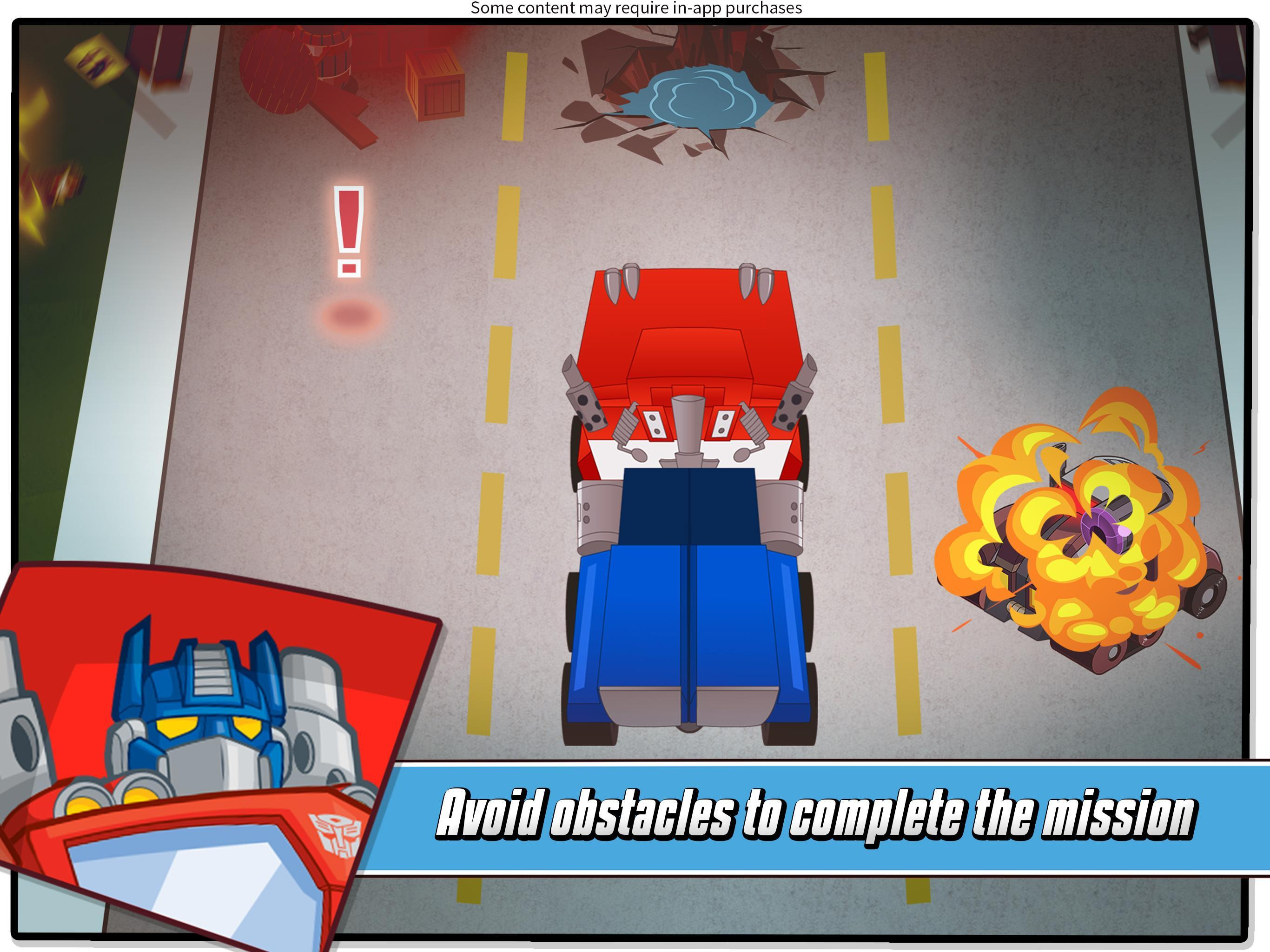 Transformers Rescue Bots: Hero Adventures 2.1 Screenshot 8