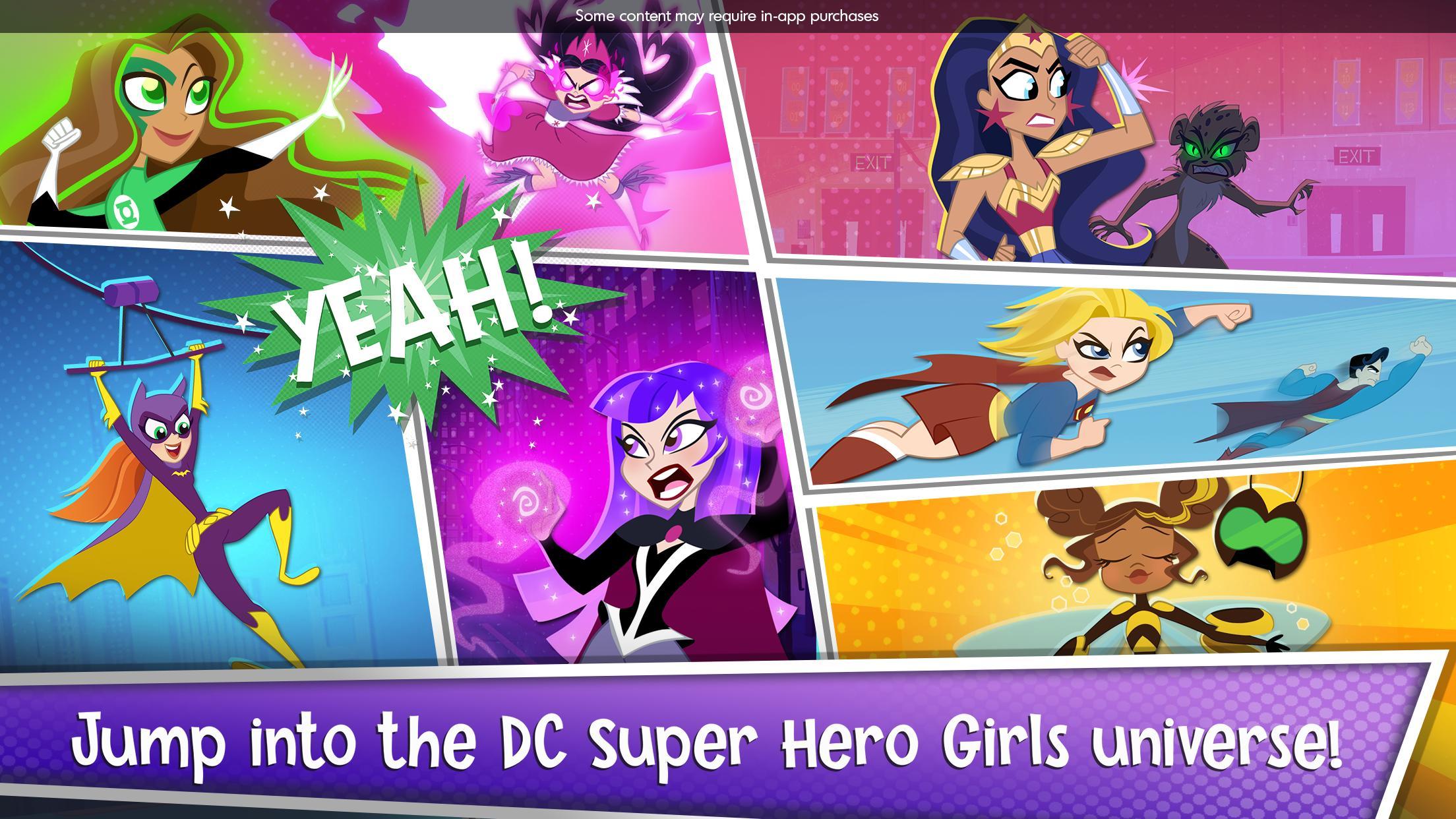 DC Super Hero Girls Blitz 1.4 Screenshot 6