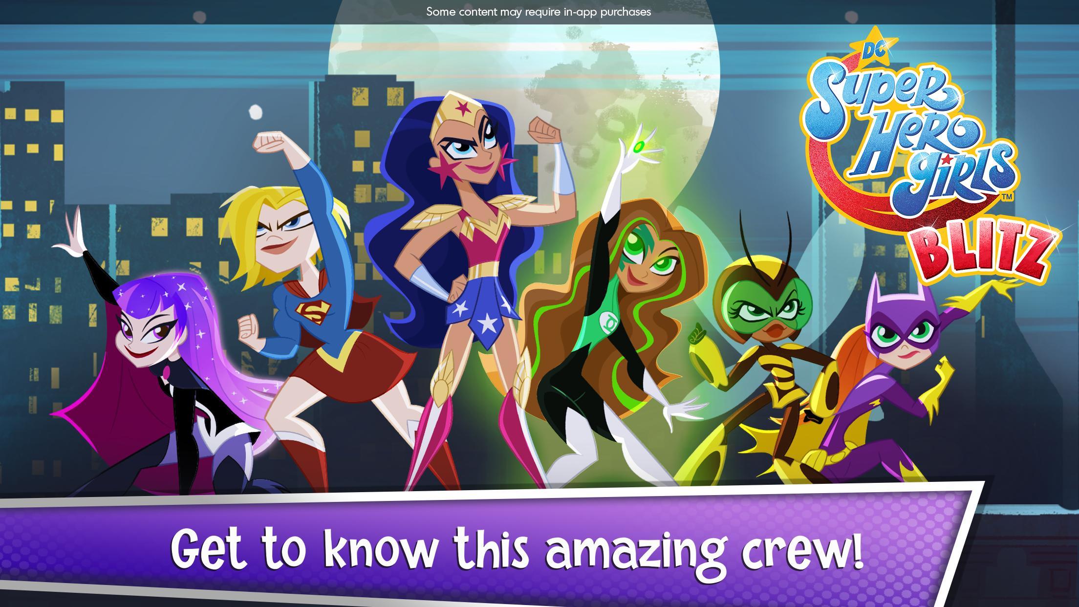 DC Super Hero Girls Blitz 1.4 Screenshot 7