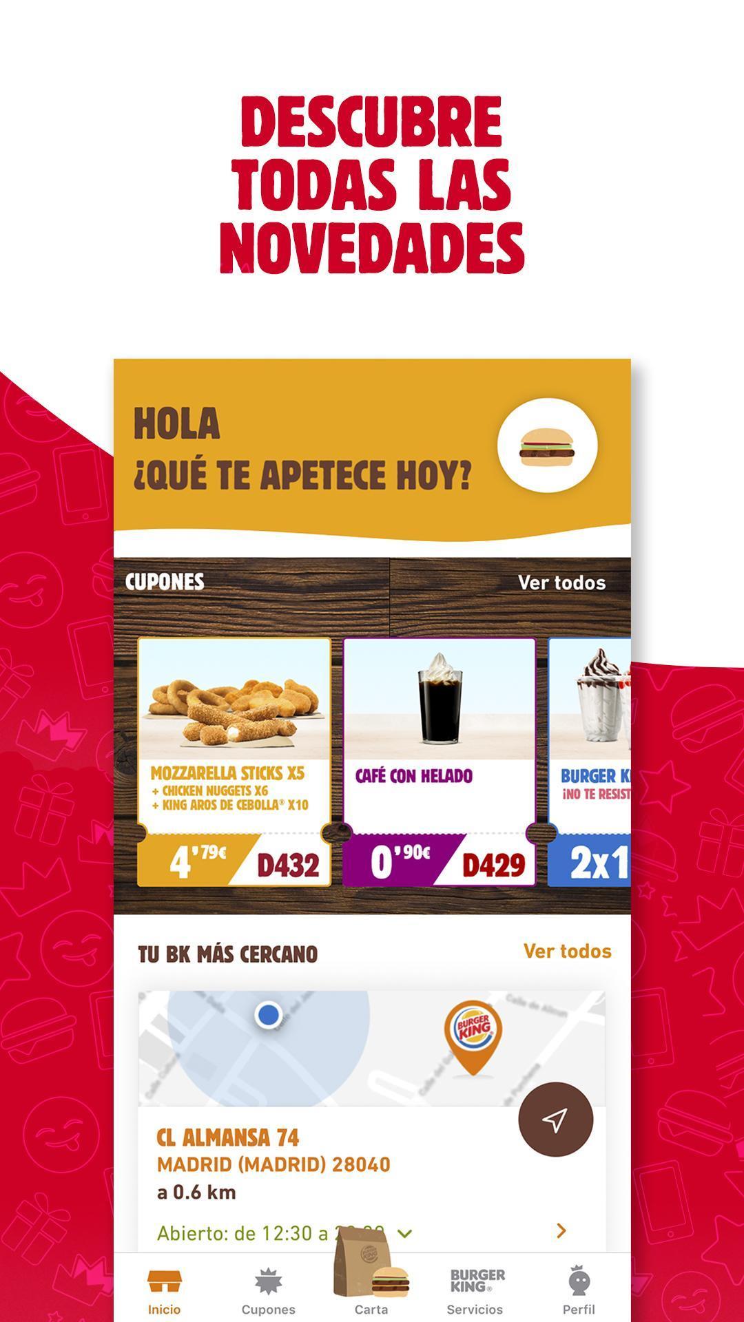 BURGER KING® España 5.0.1 Screenshot 1