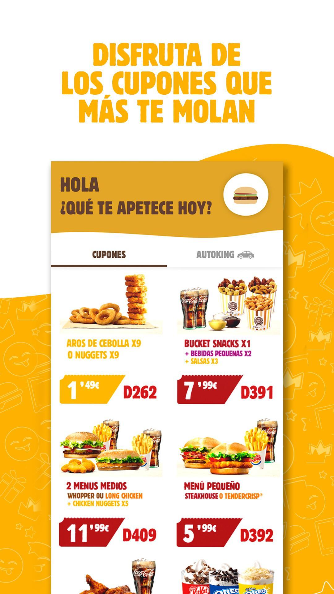 BURGER KING® España 5.0.1 Screenshot 2