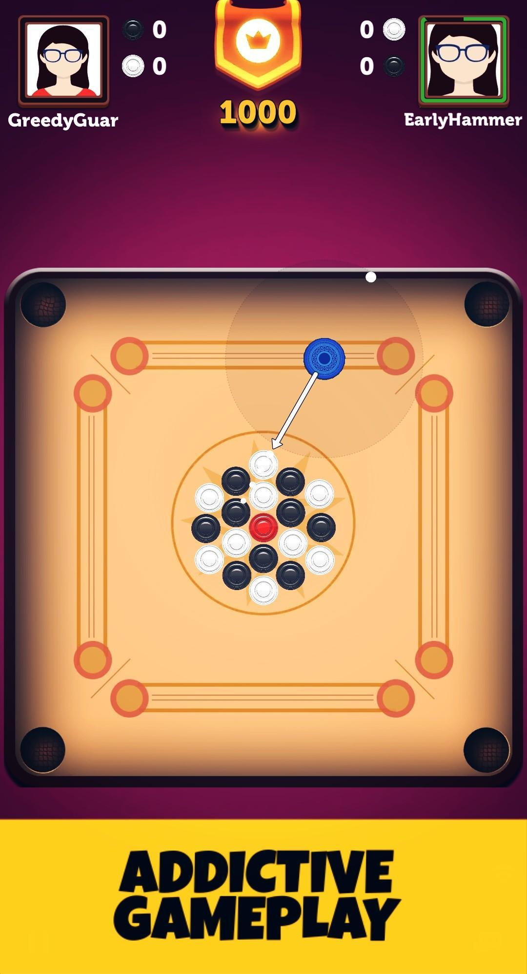 Carrom : Candy Carrom - A Carrom Board Game 4.0.2 Screenshot 1