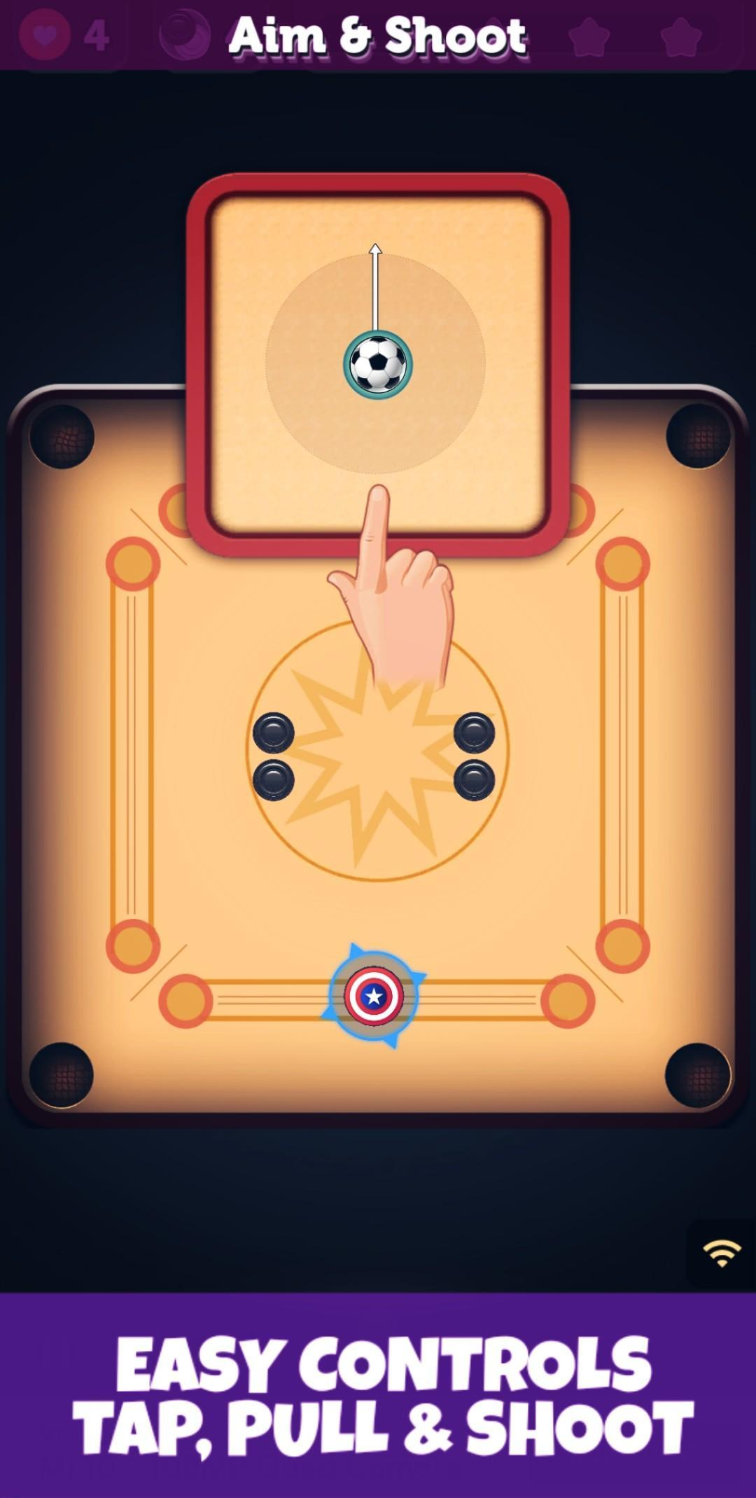 Carrom : Candy Carrom - A Carrom Board Game 4.0.2 Screenshot 2