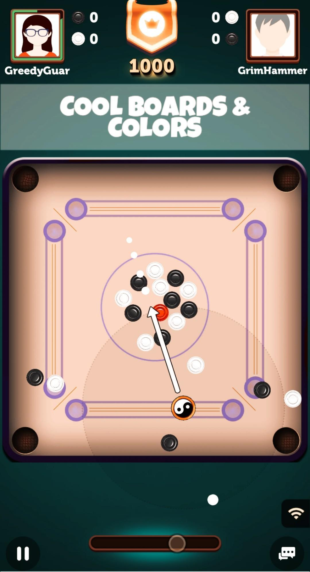 Carrom : Candy Carrom - A Carrom Board Game 4.0.2 Screenshot 3