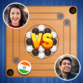Carrom Royal Multiplayer Carrom Board Pool Game app icon