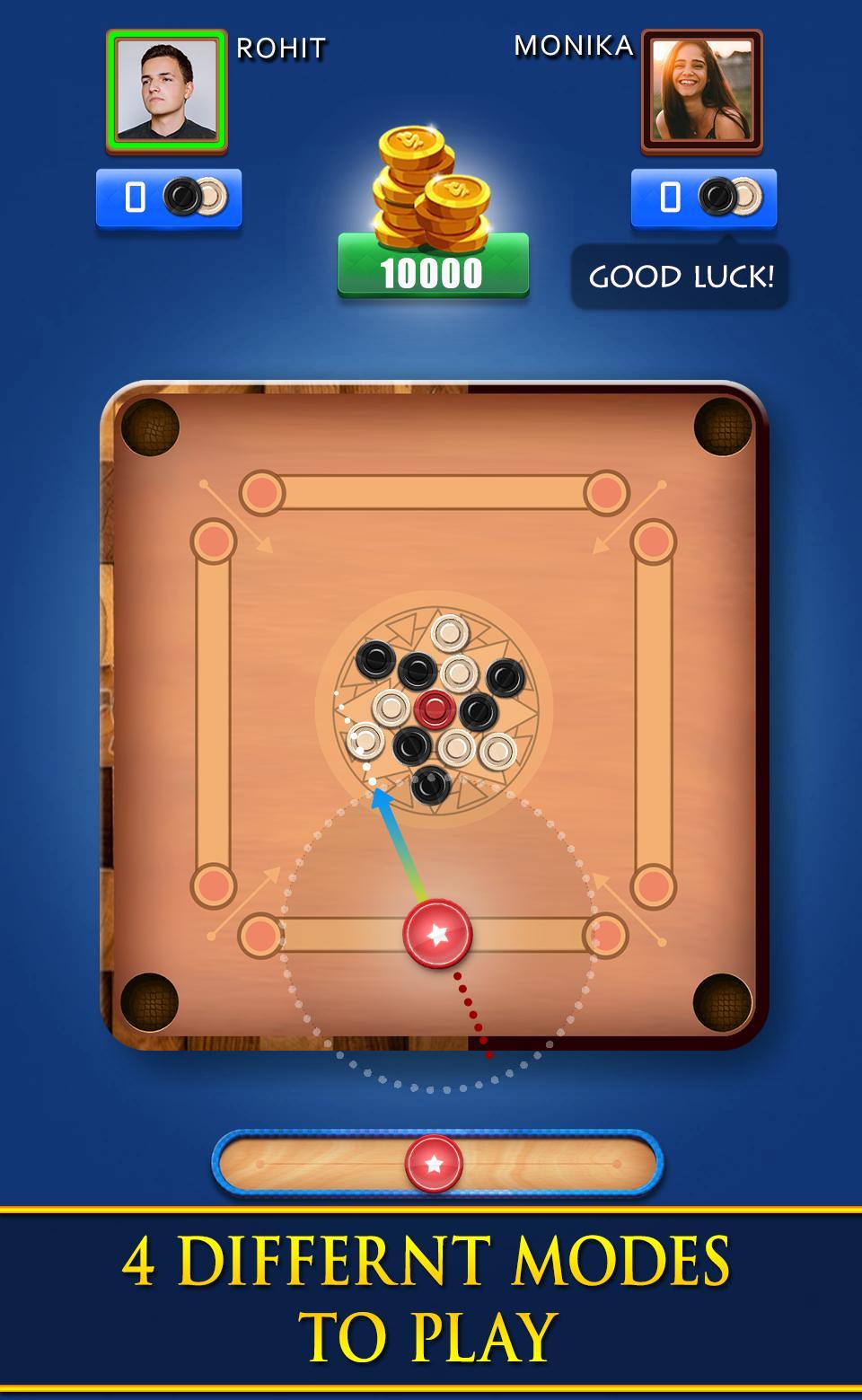 Carrom Royal Multiplayer Carrom Board Pool Game 10.2.9 Screenshot 1
