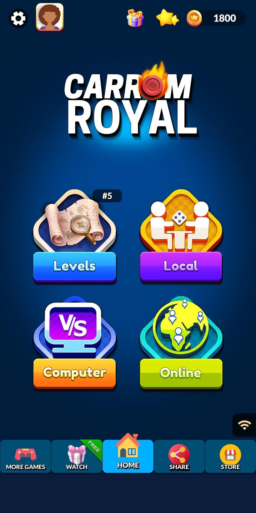 Carrom Royal Multiplayer Carrom Board Pool Game 10.2.9 Screenshot 12