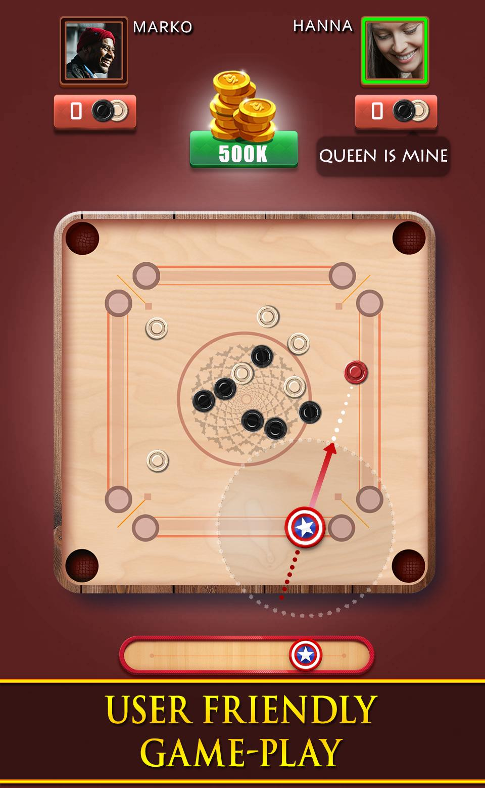 Carrom Royal Multiplayer Carrom Board Pool Game 10.2.9 Screenshot 3
