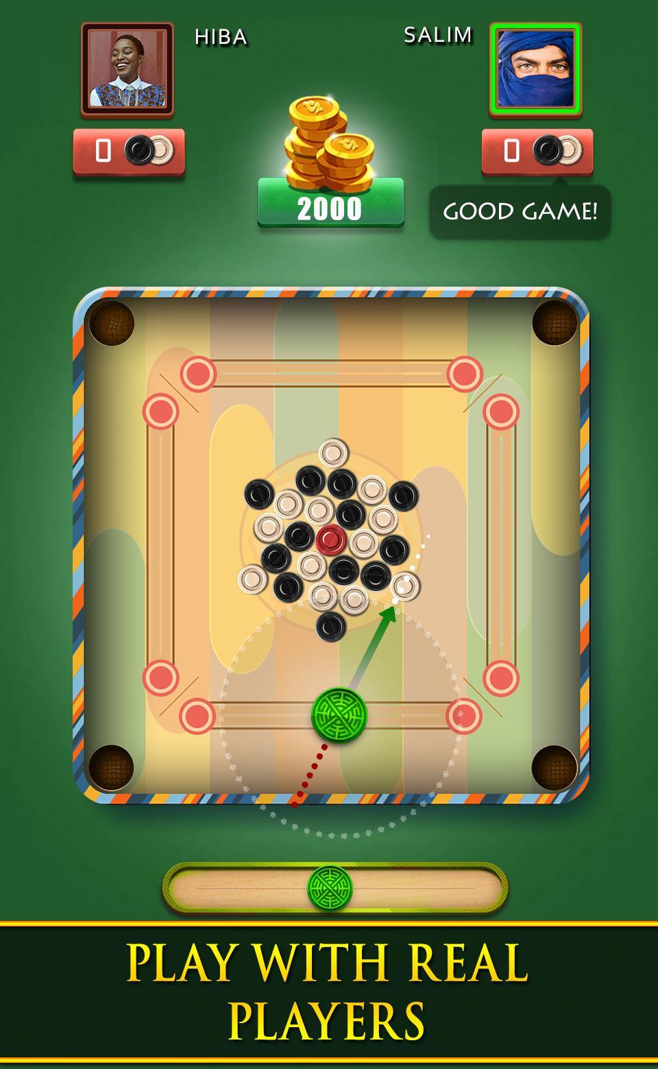 Carrom Royal Multiplayer Carrom Board Pool Game 10.2.9 Screenshot 4