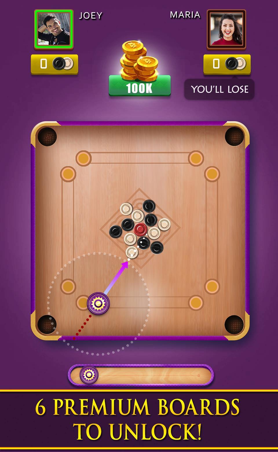 Carrom Royal Multiplayer Carrom Board Pool Game 10.2.9 Screenshot 8