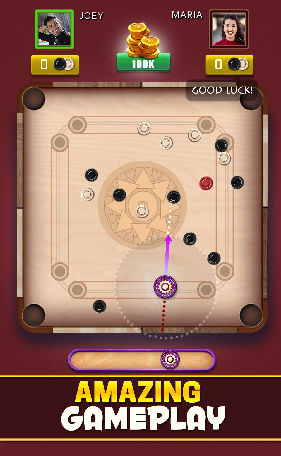 Carrom Club Online : Carrom Board Disc Pool Game 10.3.7 Screenshot 1