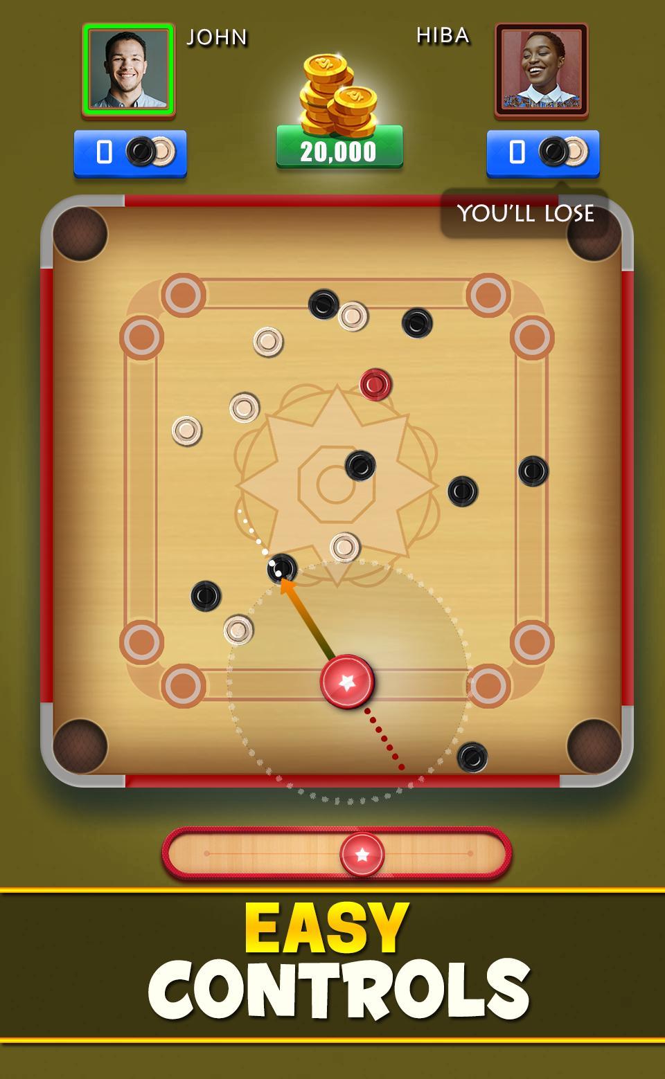 Carrom Club Online : Carrom Board Disc Pool Game 10.3.7 Screenshot 8