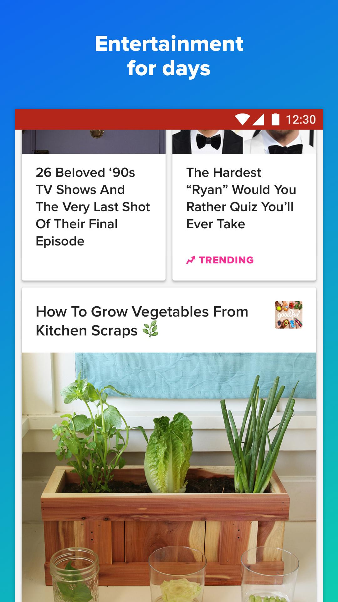 BuzzFeed News, Tasty, Quizzes 5.58 Screenshot 5