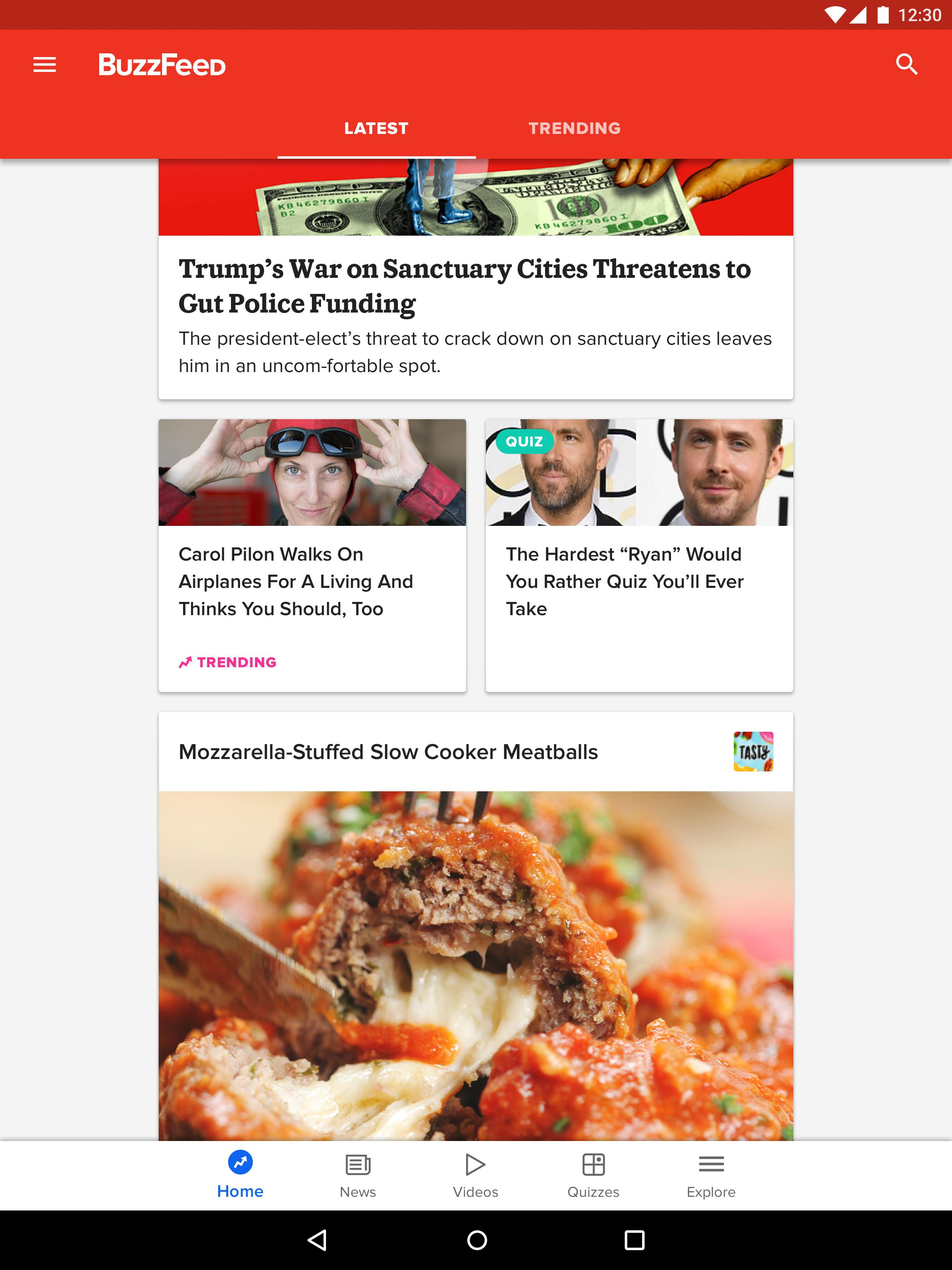 BuzzFeed News, Tasty, Quizzes 5.58 Screenshot 6