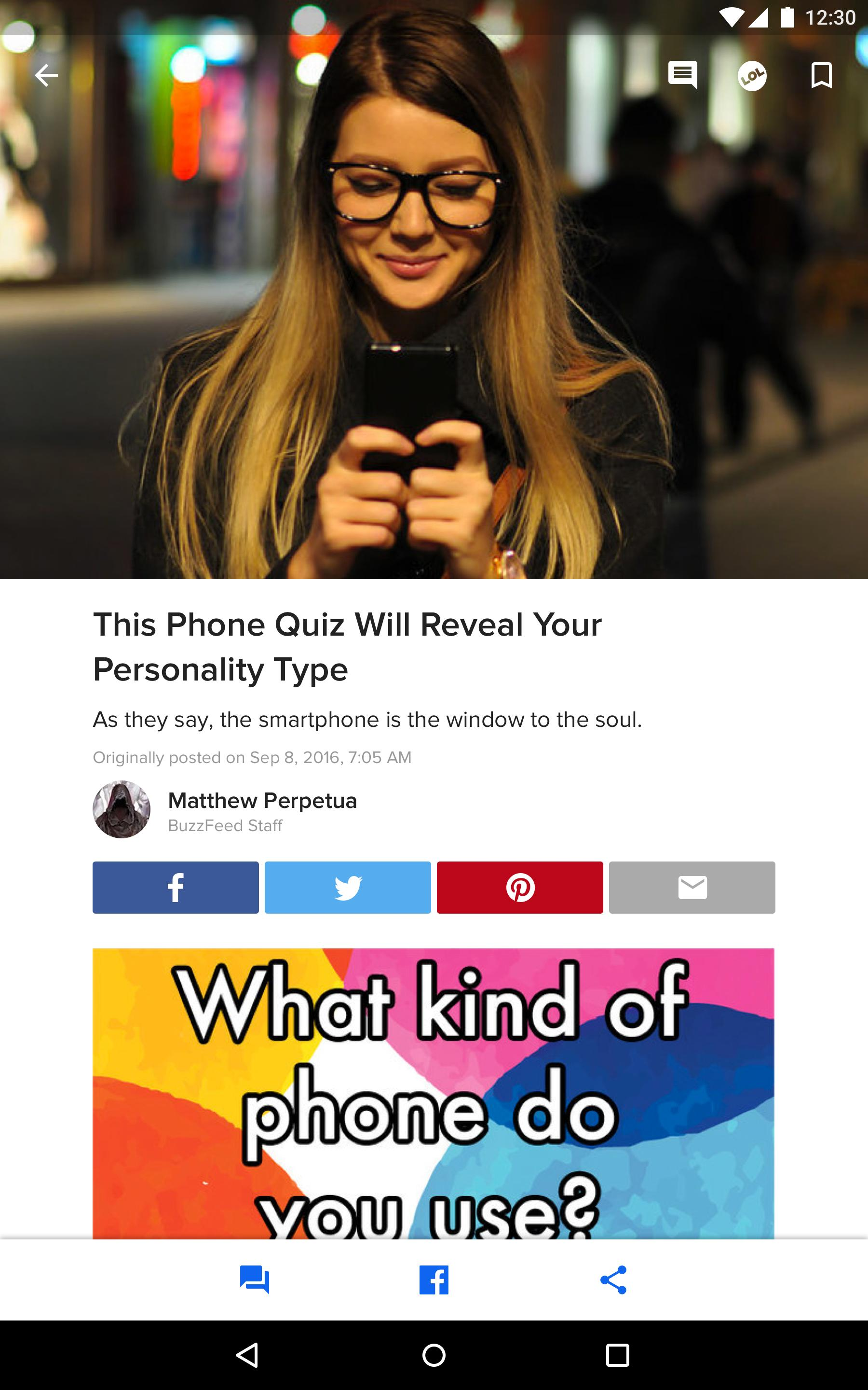 BuzzFeed News, Tasty, Quizzes 5.58 Screenshot 8
