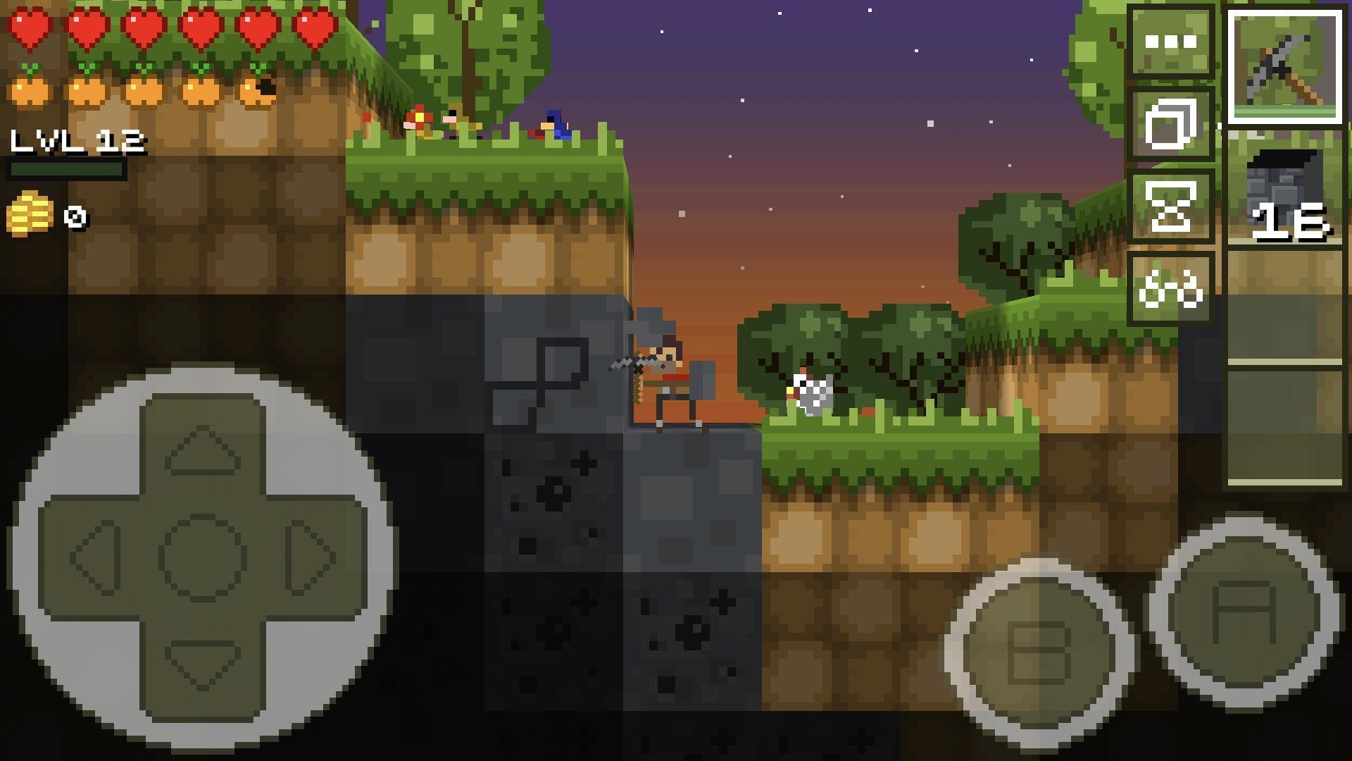 LostMiner Block Building & Craft Game v1.4.2a Screenshot 1