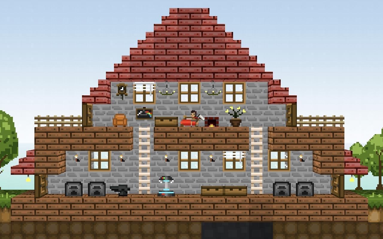 LostMiner Block Building & Craft Game v1.4.2a Screenshot 10