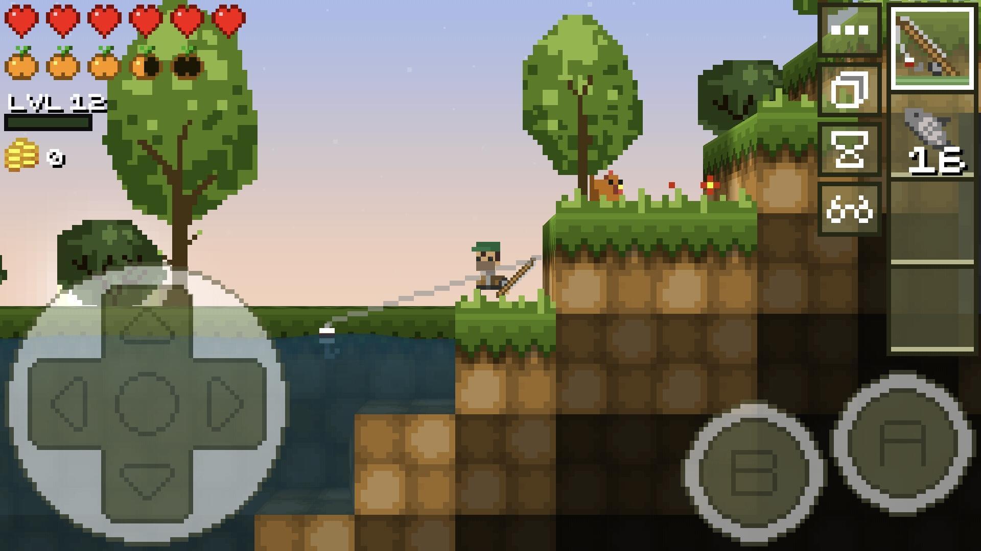 LostMiner Block Building & Craft Game v1.4.2a Screenshot 2