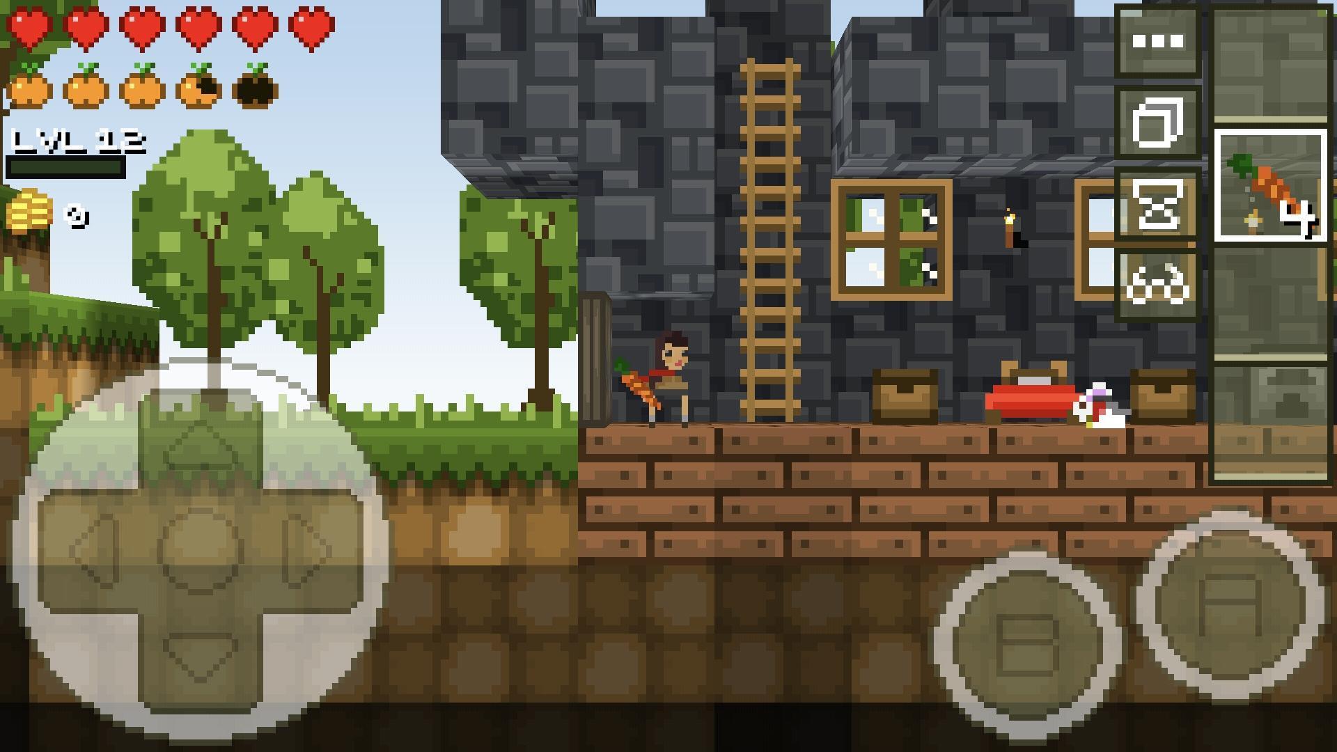 LostMiner Block Building & Craft Game v1.4.2a Screenshot 5