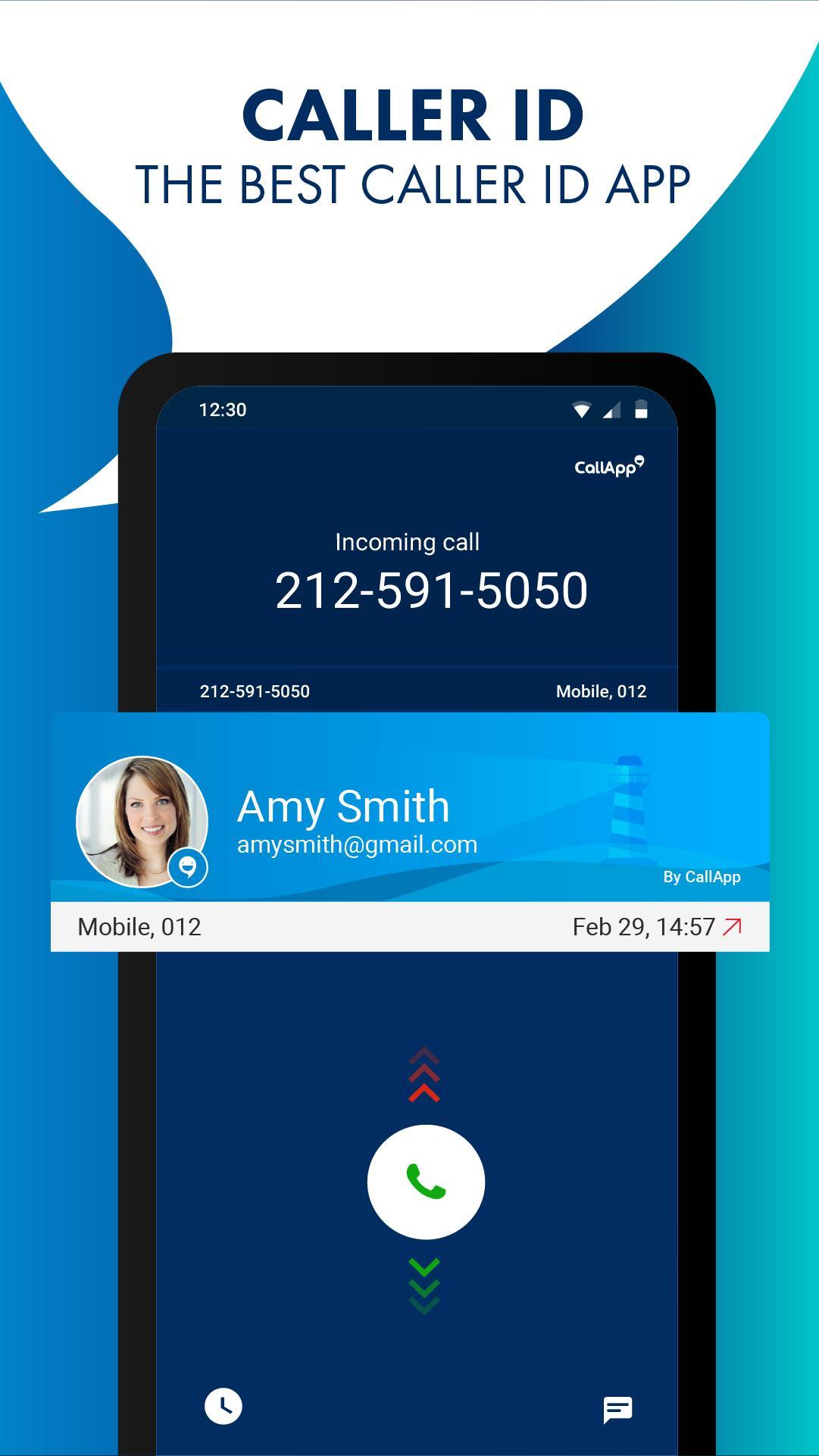 CallApp: Caller ID, Call Blocker & Call Recorder 1.528 Screenshot 1
