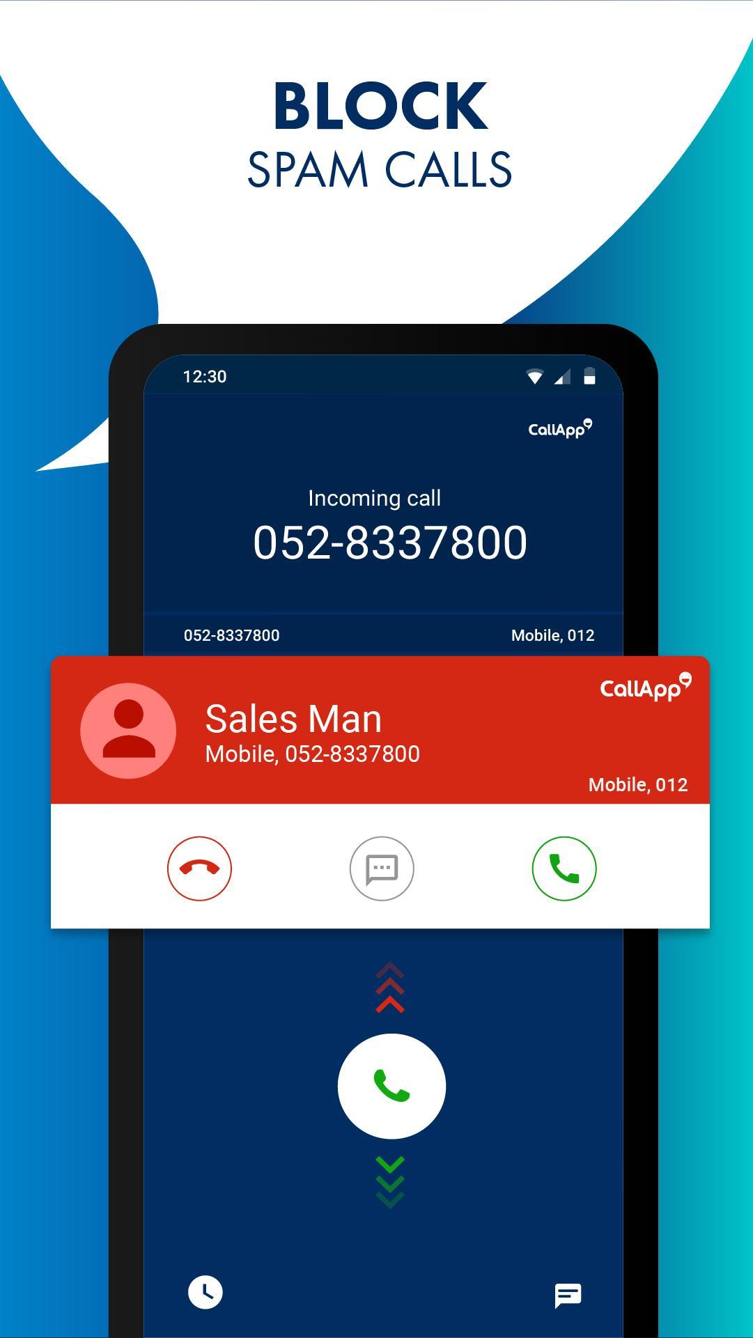 CallApp: Caller ID, Call Blocker & Call Recorder 1.528 Screenshot 2