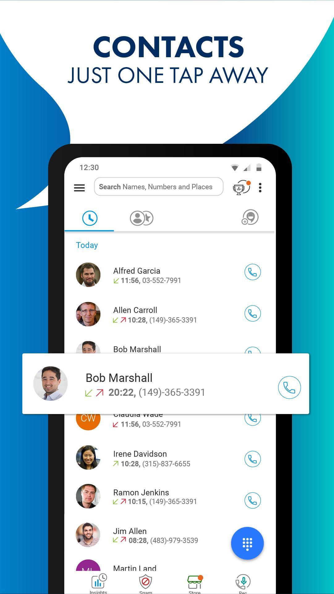 CallApp: Caller ID, Call Blocker & Call Recorder 1.528 Screenshot 3