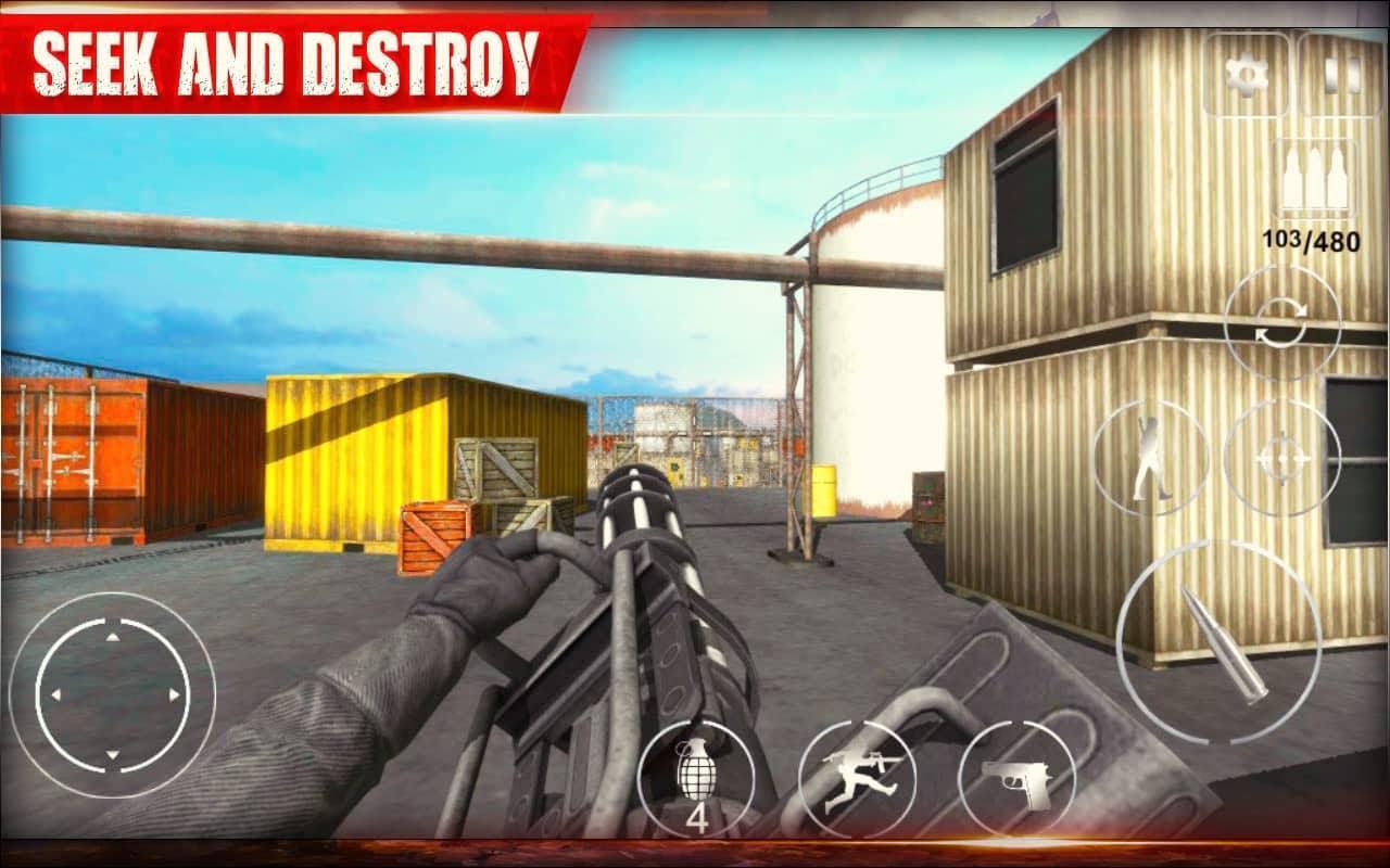 Delta Commando : FPS Action Game 1.0.10 Screenshot 3