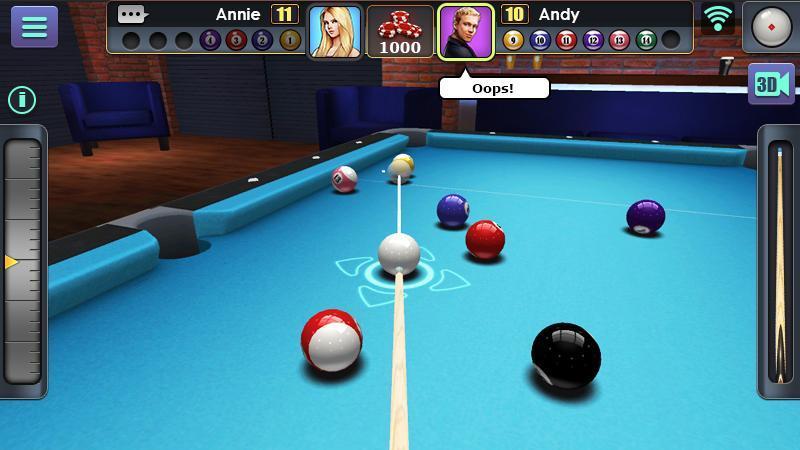 3D Pool Ball 2.2.2.3 Screenshot 1
