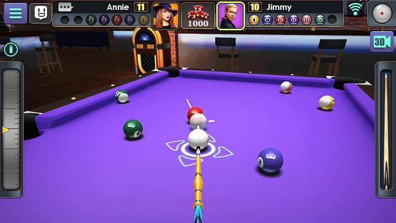 3D Pool Ball 2.2.2.3 Screenshot 4