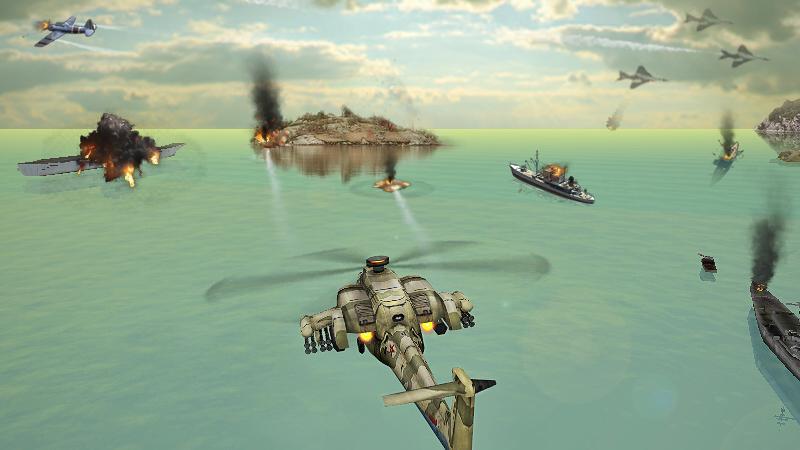 Gunship Strike 3D 1.1.0 Screenshot 2