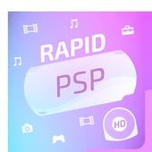 Rapid PSP Emulator for PSP Games app icon
