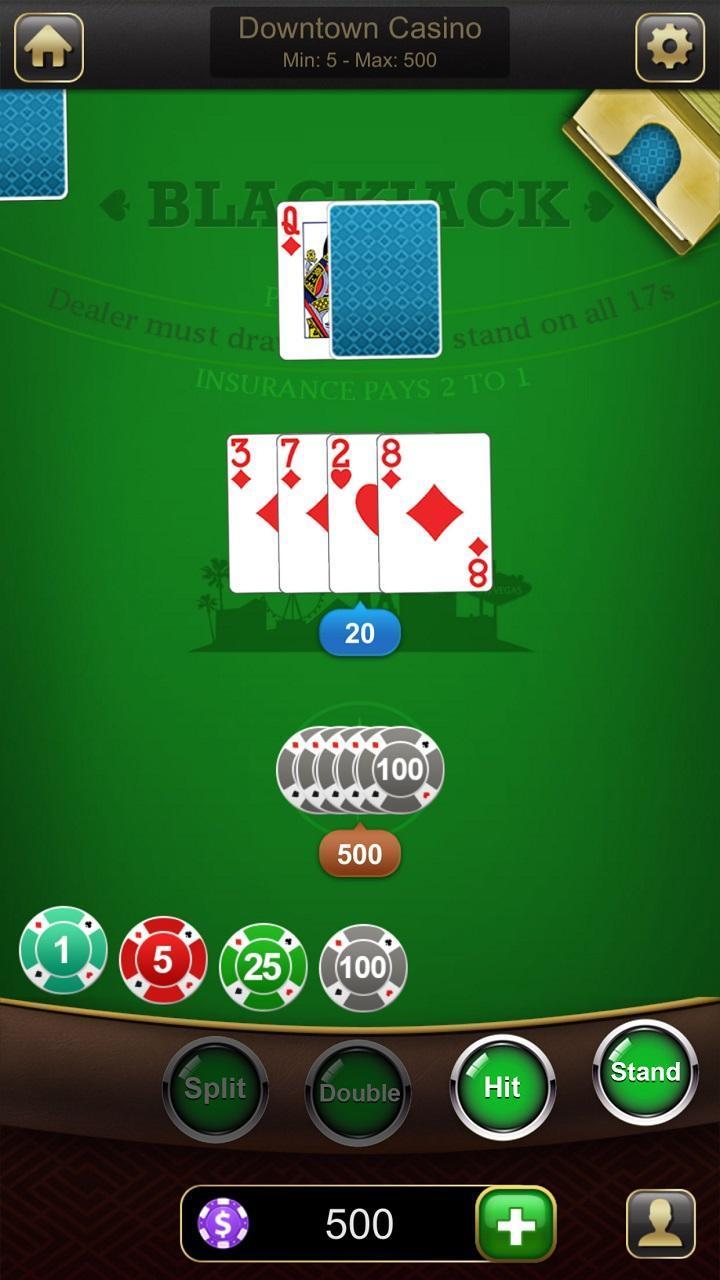Blackjack 21 1.2.7 Screenshot 1