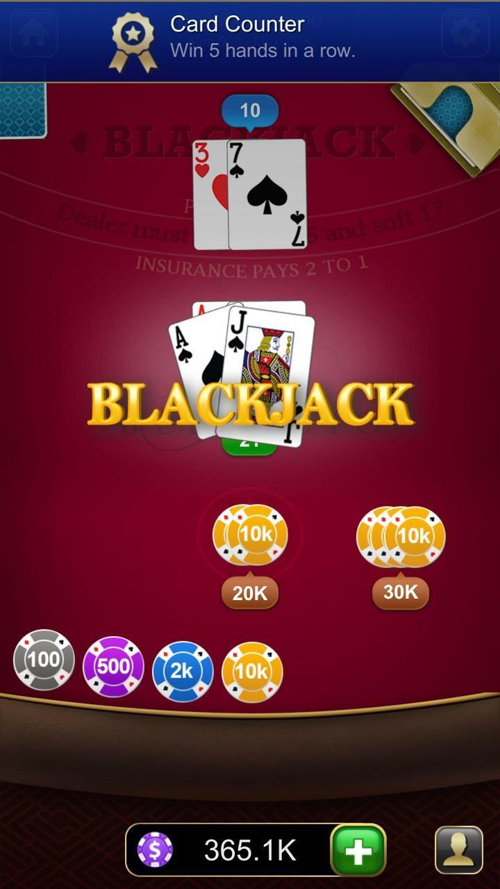 Blackjack 21 1.2.7 Screenshot 3
