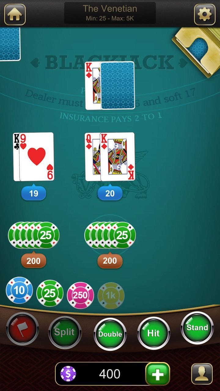 Blackjack 21 1.2.7 Screenshot 4