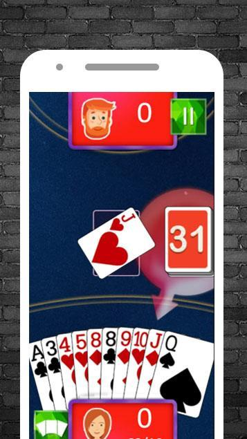 Offline Card Games (free no wifi) feat. Gin Rummy 3.5 Screenshot 3