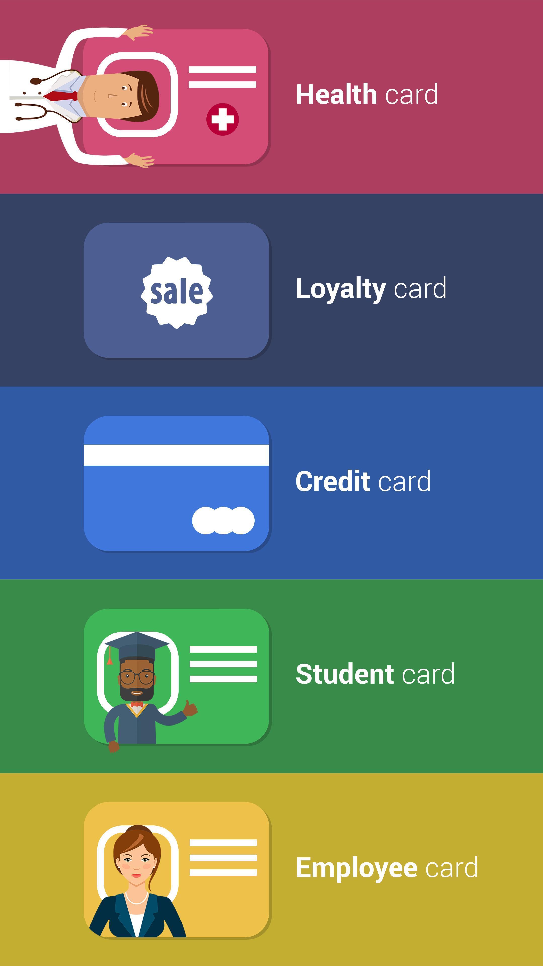 Cards Mobile Wallet 2.20 Screenshot 2