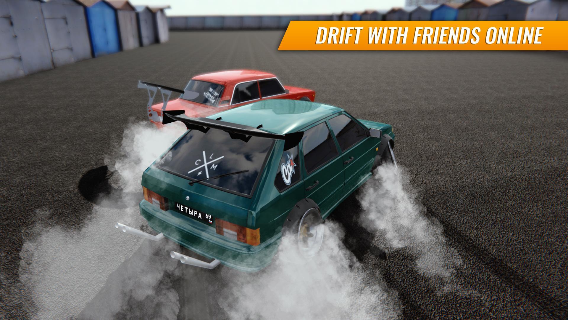 Russian Car Drift screenshot