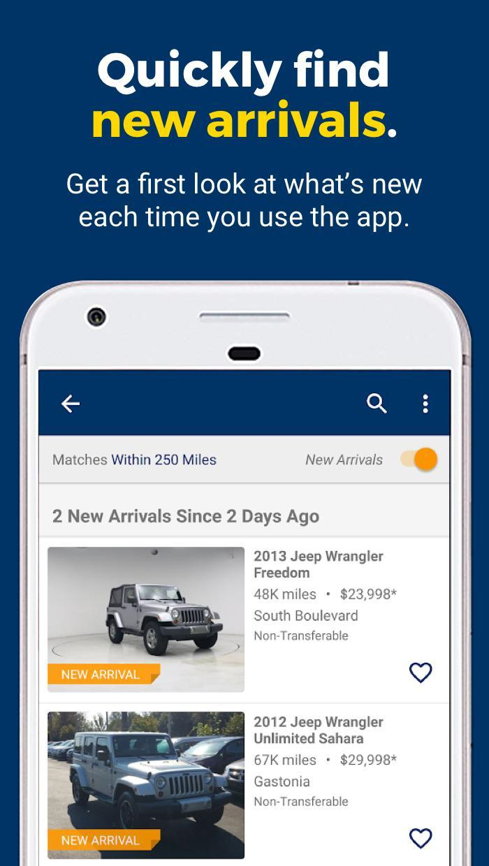 CarMax – Cars for Sale: Search Used Car Inventory 3.7.0 Screenshot 4