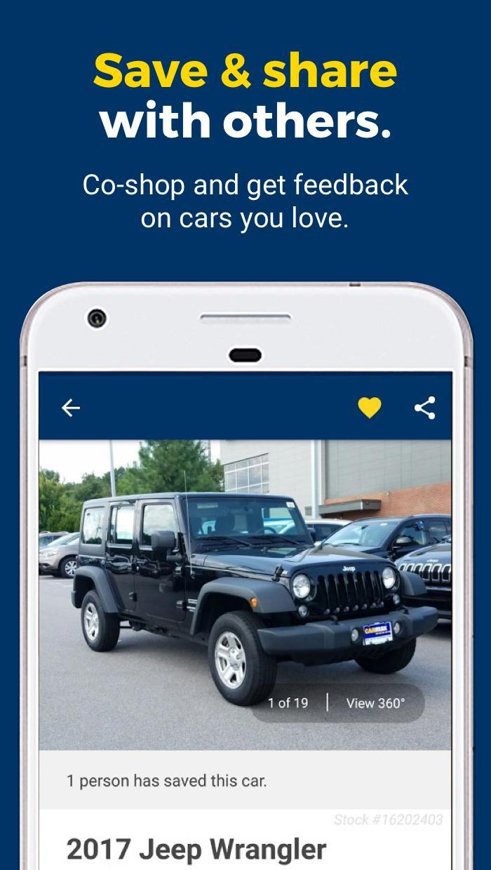CarMax – Cars for Sale: Search Used Car Inventory 3.7.0 Screenshot 5
