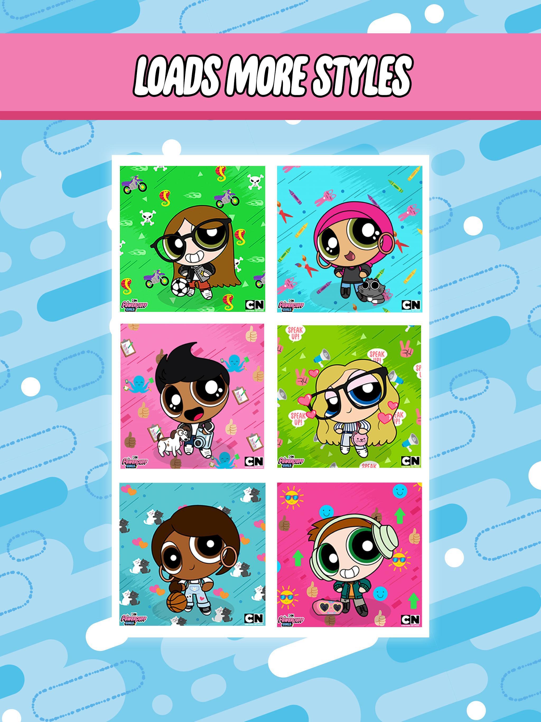 Powerpuff Yourself Powerpuff Girls Avatar Maker 3.8.0 Screenshot 13