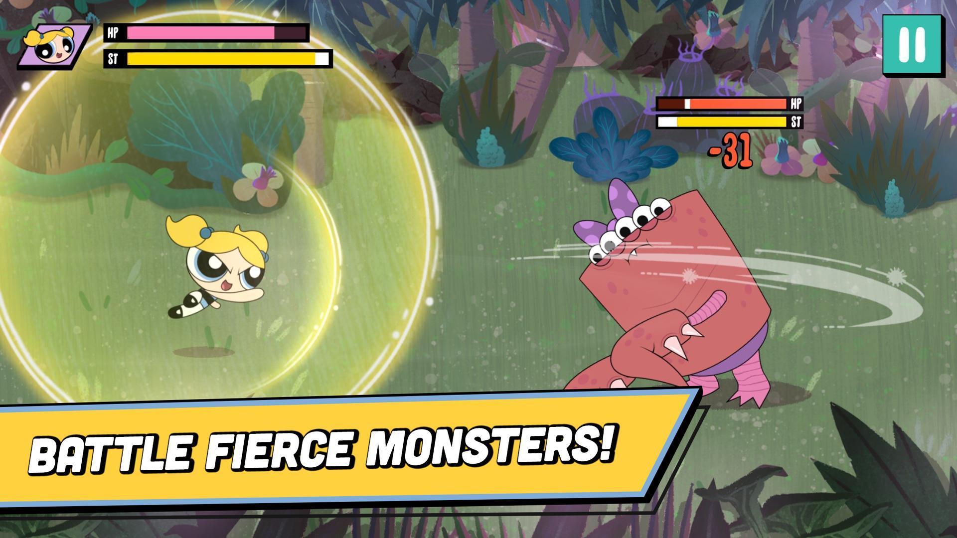 Ready, Set, Monsters! Powerpuff Girls Games 1.0.2 Screenshot 1
