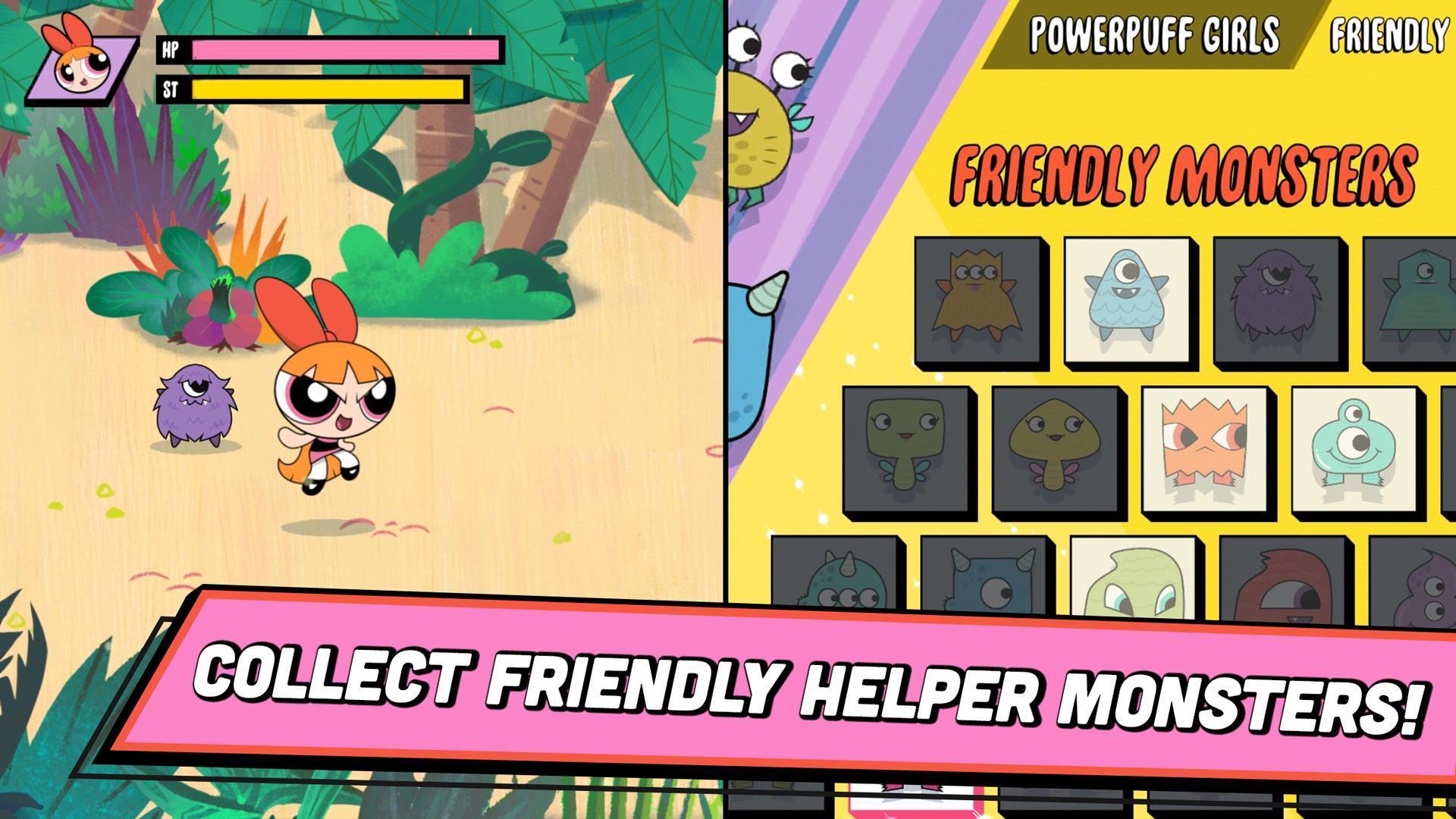 Ready, Set, Monsters! Powerpuff Girls Games 1.0.2 Screenshot 4