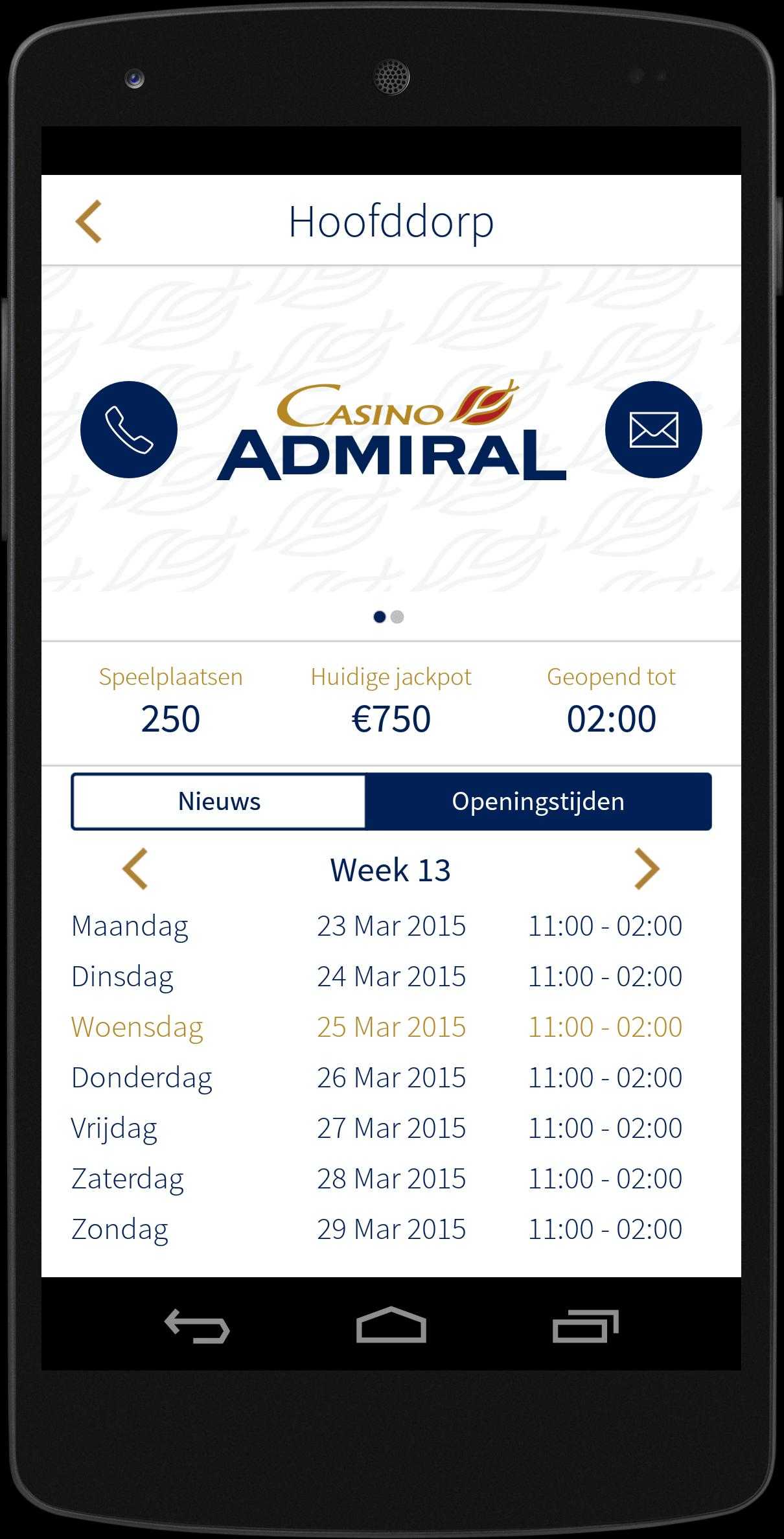 Casino Admiral Holland 1.4.2 Screenshot 4