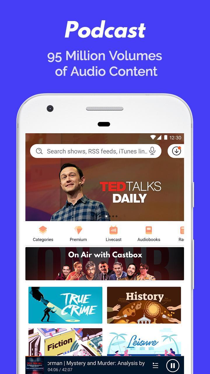 Podcast Player & Podcast App - Castbox 8.19.0-200927161 Screenshot 2