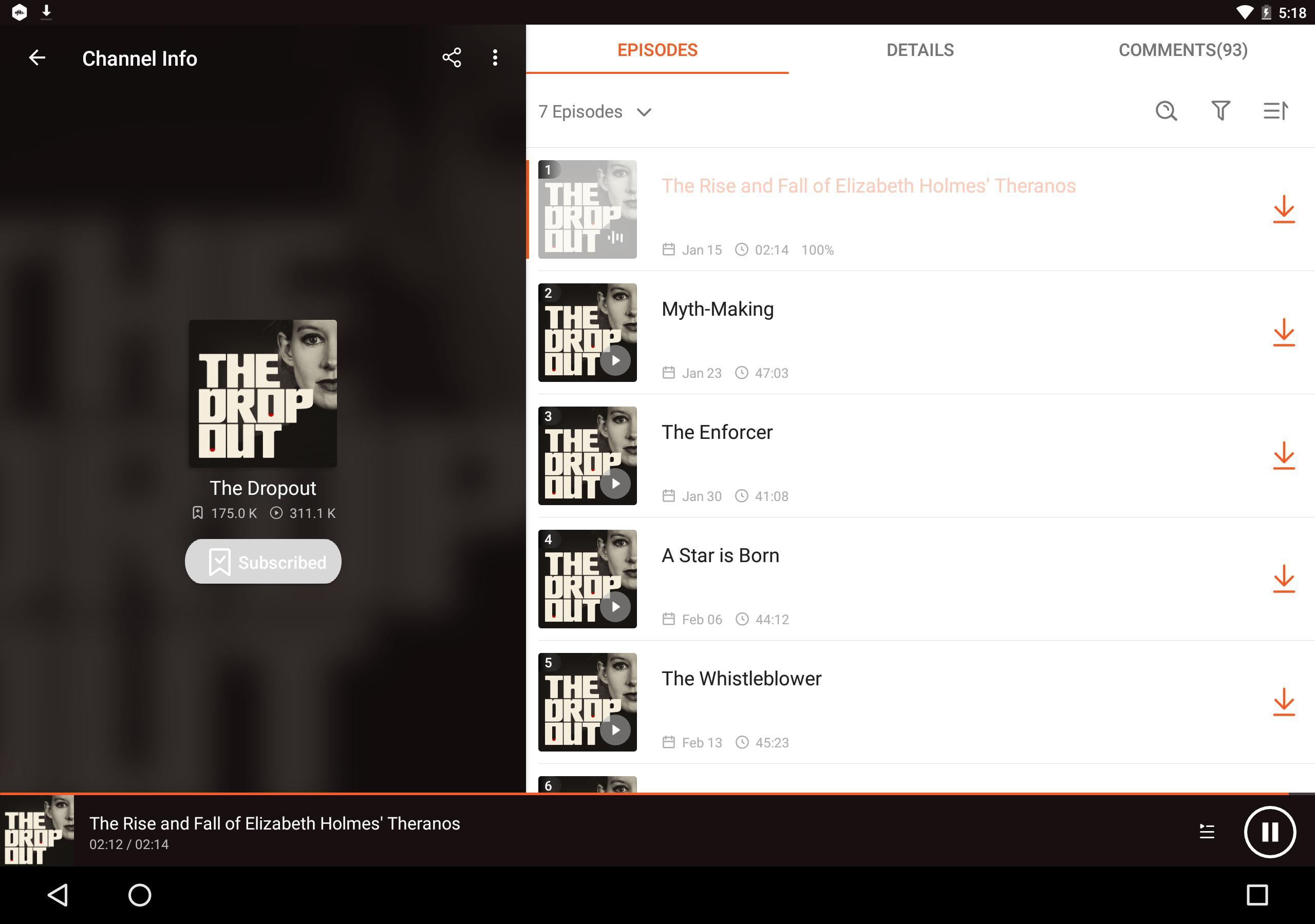 Podcast Player & Podcast App - Castbox 8.19.0-200927161 Screenshot 8