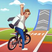 Bike Hop Be a Crazy BMX Rider app icon