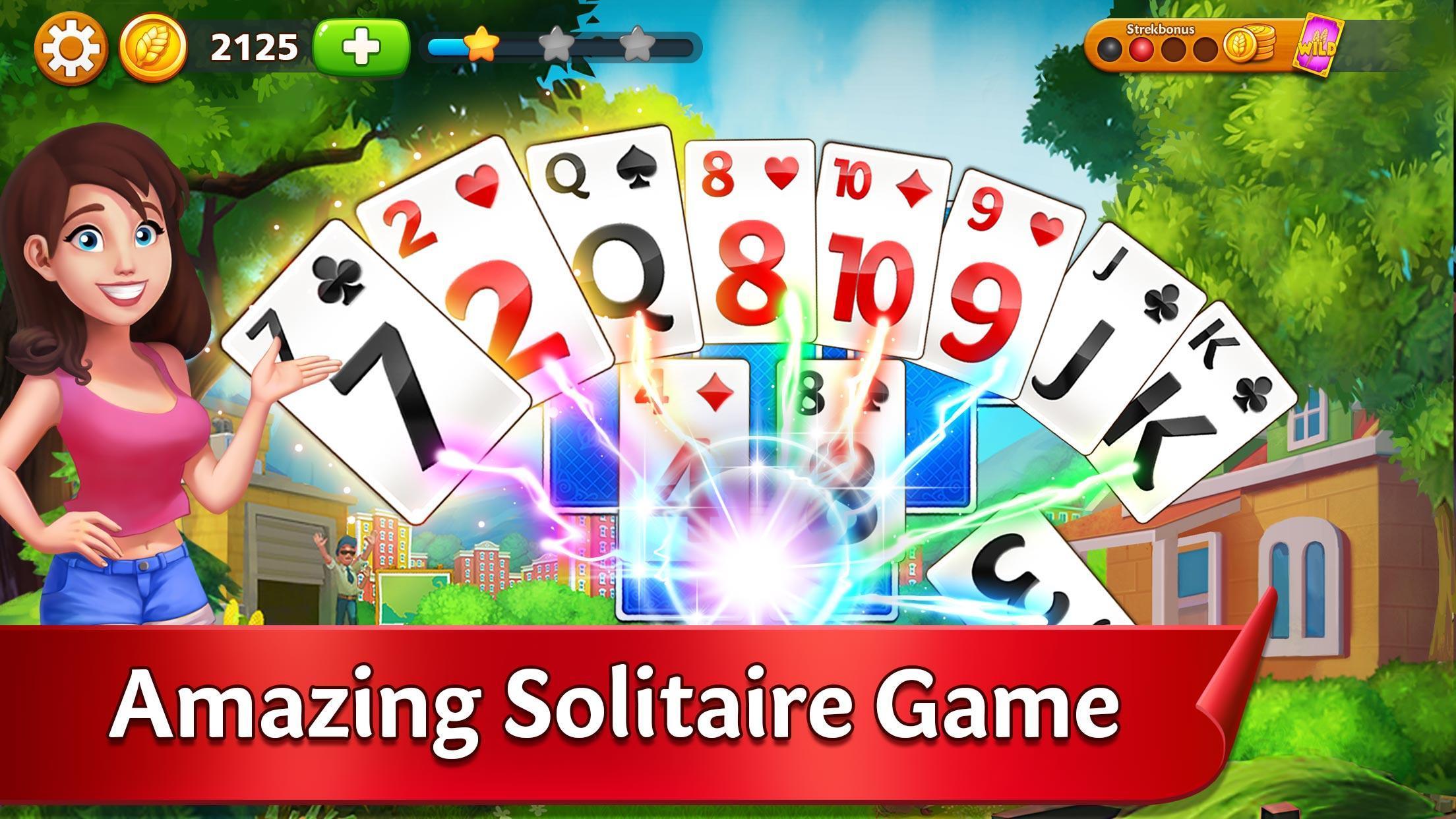 Solitaire Garden - TriPeaks Story 1.5.1 Screenshot 1
