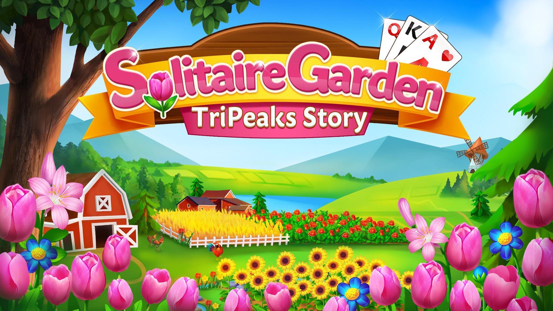 Solitaire Garden - TriPeaks Story 1.5.1 Screenshot 5