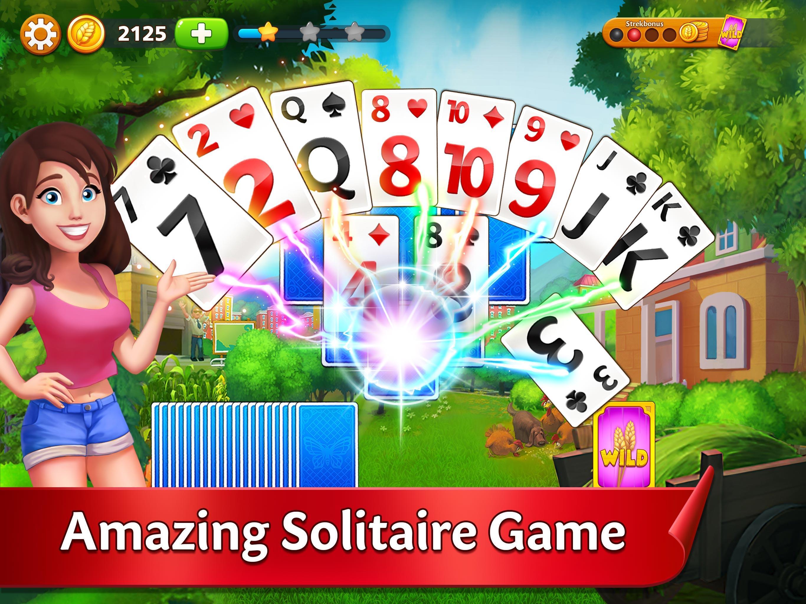 Solitaire Garden - TriPeaks Story 1.5.1 Screenshot 6