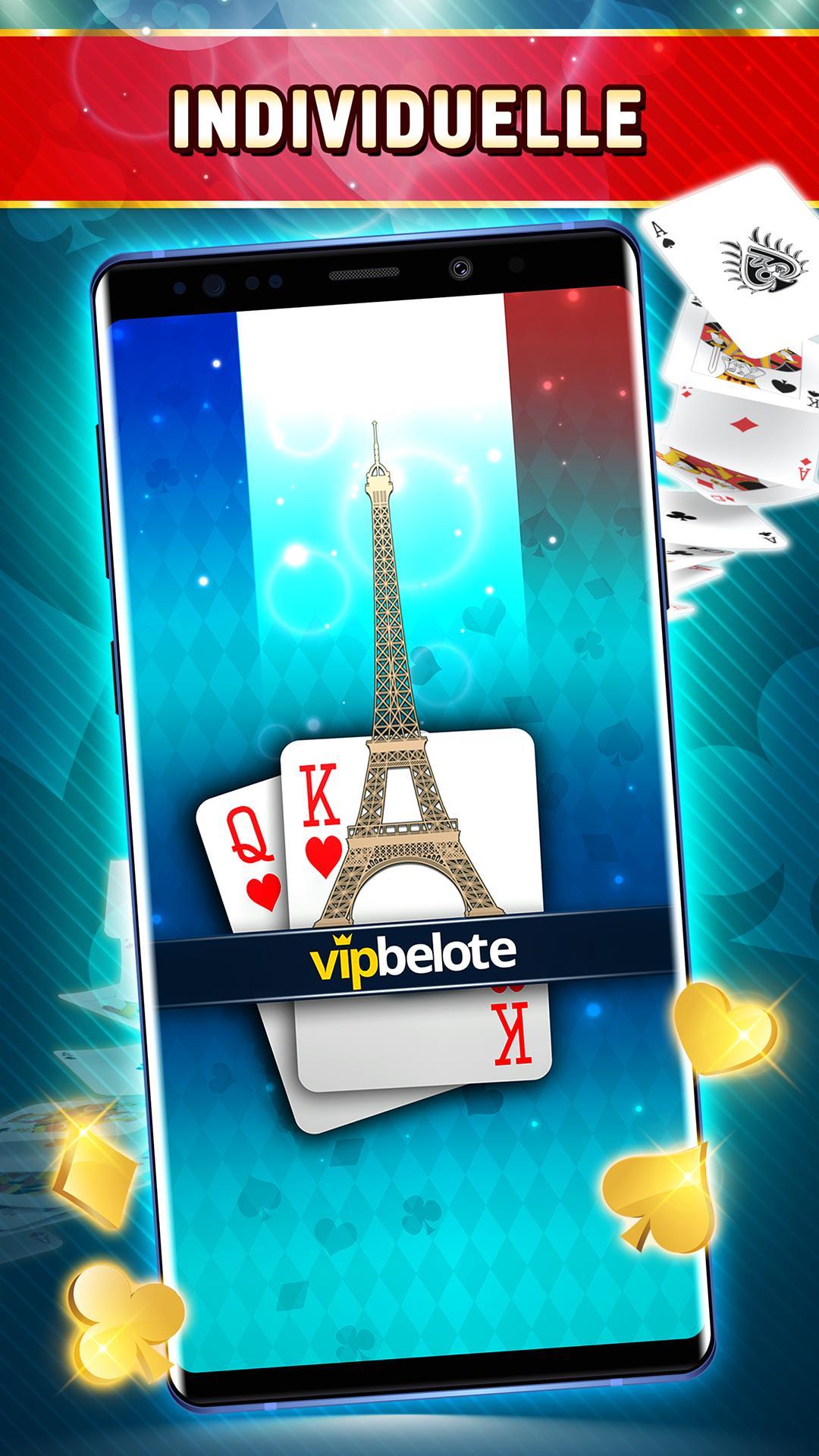 Belote Offline Single Player Card Game 2.0.23 Screenshot 1